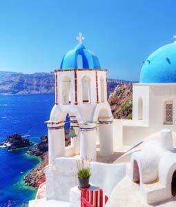 des îles grecques
